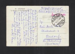 Kriegsgefangenenpost PK SS Sturmbahnfürer Walter Reder Aus Italien Nach Österreich - Autogramme & Autographen