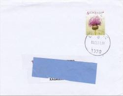 Z] Enveloppe Cover Slovénie Slovenia Fleur Flower Serratula Lycopifolia Serratule Saw-wort - Slovénie