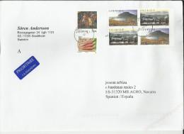 SUECIA CC SELLOS ZANAHORIA ARTE NATURALEZA LAPONIA - Filatelia Polar