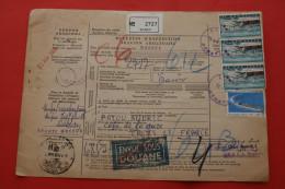 COLIS POSTAUX CPX SPARTI GREECE Gréce AEATION COUPON ADRESKAART BULLETIN EXPEDITION  DOUANE CUSTOMS ZÖLLE  FRANCHISE - Parcel Post