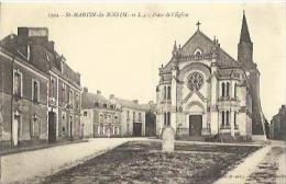 2839 Saint Martin Du Bois - Place De L'Eglise - France