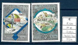 1979 RUSSIA   Serie Cpl Nuova ** MNH - 1923-1991 URSS