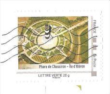 TIMBRE FRANCE MON TIMBRAMOI MON TIMBRENLIGNE PHARE DE CHASSIRON ILE OLERON SUR ENVELOPPE 22X11 - Frankrijk