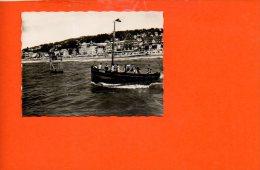 14 DEAUVILLE : Promenade En Mer Et La Plage - Bâteau (photo De Dimensions 8.8 X 6.5) - Photographie