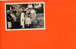 14 BLONVILLE Sur MER : Villa - Photo De Famille D'août 1916 (photo De Dimensions 8.5  X 6) - Photographie