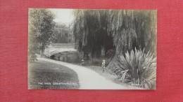 Blank Back  Photo--- The Avon Christchurch NZ   - - - -ref   1924- - New Zealand