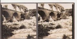 LE PONT DU GARD (GARD) PHOTO STEREOSCOPIQUE ANCIENNE - Stereoscopic
