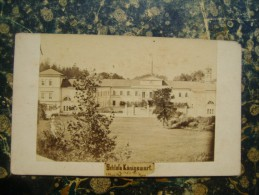 Czech Republic-Germany-Koningswart-Castle Kynzvart-Judaica??-PHOTO-photograhfer E.Pflanz??-109x67mm-cca 1870 (3179) - Tchéquie
