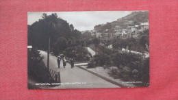 > New Zealand  Wellington  Botanical Gardens---ref  1924- - Nouvelle-Zélande