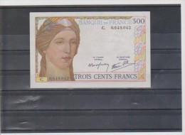 FRANCE BILLET 300 FR  COTE 1300 €  QUALITE SPLENDIDE (FAYETTE) - 1871-1952 Antiguos Francos Circulantes En El XX Siglo