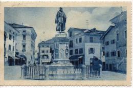 Veneto-belluno-pieve Di Cadore Veduta Piazza Tiziano Anni 20 - Altre Città