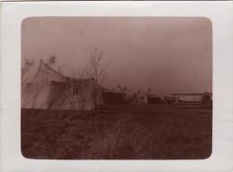 Photo 14-18 ROUVROIS-SUR-OTHAIN (près Bouligny) - Tente D'aviateur, Camp D'aviation, Un Avion (A114, Ww1, Wk 1) - Unclassified
