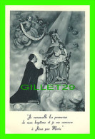 IMAGES RELIGIEUSES - JE RENOUVELLE LES PROMESSES DE MON BAPTÊME ... - MAISON DE RETRAITES FERMÉES, MONTRÉAL - - Images Religieuses