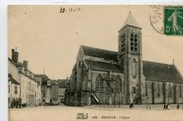 CPA 91 ESSONNES L EGLISE 1910 - Essonnes