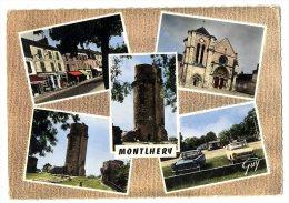 91  MONTLHERY  MULTIVUES  -  CPM 1950 / 60 - Montlhery