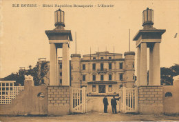 WW 808  C P A  ILE ROUSSE   (20) HOTEL NAPOLEON BONAPARTE  L'ENTREE - Francia