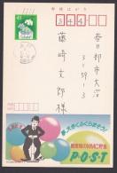 Japan Advertising Postcard, Chaplin (jadu1319) - Interi Postali