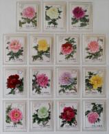 PIVOINES 1964 - NEUFS ** - YT 1552/66 - MI 795/09 - DENTELES 11 - Unused Stamps