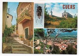 83 - Cuers - Une Rue Pittoresque - Notre-Dame De Santé - Vue Générale - Cigale - Cuers