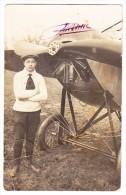 Flugpost 25.7.1916 Solothurn Auf  AK (Bugig) Mit Flugpionnier Theodor Borrer - Poste Aérienne