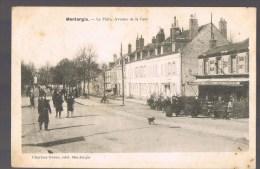 MONTARGIS . Le Pâtis , Avenue De La Gare . Café - Billard . Ch,Derlet . - Montargis