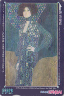 Carte Japon - PEINTURE AUTRICHE - ART NOUVEAU - GUSTAV KLIMT / ADELE BLOCH BAUER - AUSTRIA Rel. Japan Painting Card 1266 - Malerei