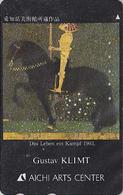 Télécarte Japon / 110-011 - PEINTURE AUTRICHE - ART NOUVEAU - GUSTAV KLIMT - AUSTRIA Rel. Japan Painting Phonecard 1268 - Malerei