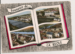 LA  REOLE,,,,,SOUVENIR,,,,,VOYAGE  1964,,,,  Rare,,,, - Greetings From...