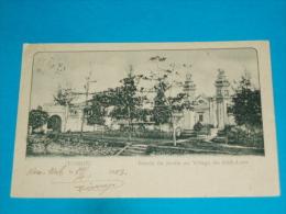 Viet-nam ) Tonkin - Entrée Du Jardin Au Village Du  Kinh-luoc  - Année 1903 - EDIT - Moreau - Vietnam