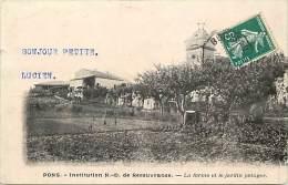 Charente Maritime -ref G169- Pons -institution Nd De Recouvrance -la Ferme Et Le Jardin Potager  - Carte Bon Etat - - Pons