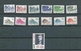 (A0077) Chine 1379/1390 + 1391 *