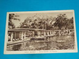 Viet-nam ) Saigon - N° 10.017 - Cercle Sportif - La Piscine  - Année 1937  - EDIT - Nadal - Viêt-Nam