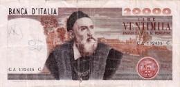 Banconota/Banconote-Monete-20.000 LIRE -TIZIANO-SERIE CA 132435 C-Buona Conservazione-AUTENTICO AL 100%-2 SCAN- - [ 2] 1946-… : Républic