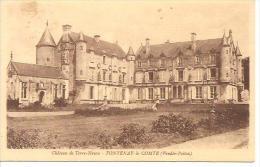 FONTENAY LE COMTE. CHATEAU DE TERRE NEUVE. - Fontenay Le Comte