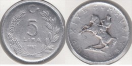 Turchia 5 Lira 1982 Km#949.1 - Used - Turkije