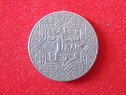 1 Franc Empire Cherifien - Marruecos