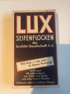Paquet De Lessive LUX  Seifenflocken Allemand Ww2 - 1939-45