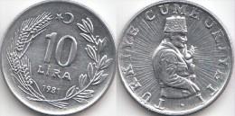 Turchia 10 Lira 1981 Km#945 - Used - Turkije