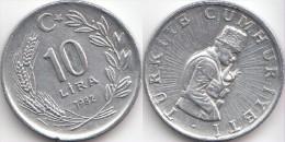 Turchia 10 Lira 1982 Km#950.1 - Used - Turkije