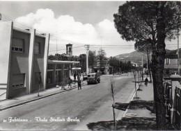 Marche-ancona-fabriano Veduta Viale Stelluti Scala Animatissima Anni/50 - Italia