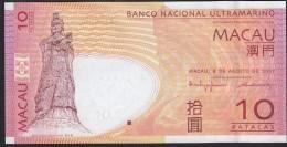 Macau 10 Patacas 2005 P80 UNC - Macao