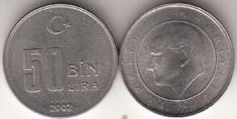 Turchia 50 Bin 2002 Km#1105 - Used - Turchia