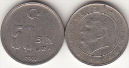 Turchia 50 Bin 2003 Km#1105 - Used - Turchia