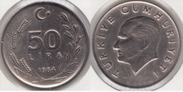 Turchia 50 Lira 1984 Km#966 - Used - Turchia
