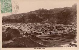 ADEN - The Town, Gel.1923 Mit Marke - Jemen