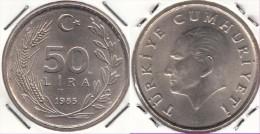 Turchia 50 Lira 1985 Km#966 - Used - Turchia