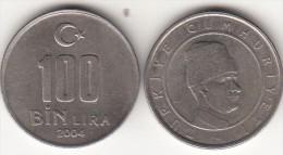 Turchia 100 Bin 2004 Km#1106 - Used - Turchia
