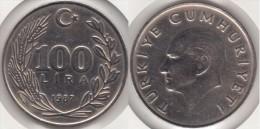 Turchia 100 Lira 1987 Km#967 - Used - Turchia