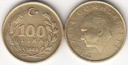 Turchia 100 Lira 1989 Km#988 - Used - Turchia