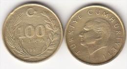 Turchia 100 Lira 1991 Km#988 - Used - Turchia